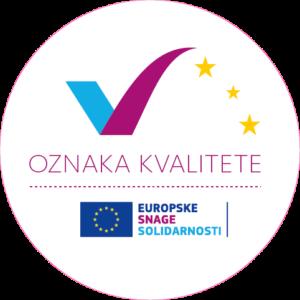 Oznaka kvalitete u okviru programa Europske snage solidarnosti.