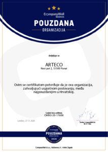 Certifikat o bonitetnoj izvrsnosti